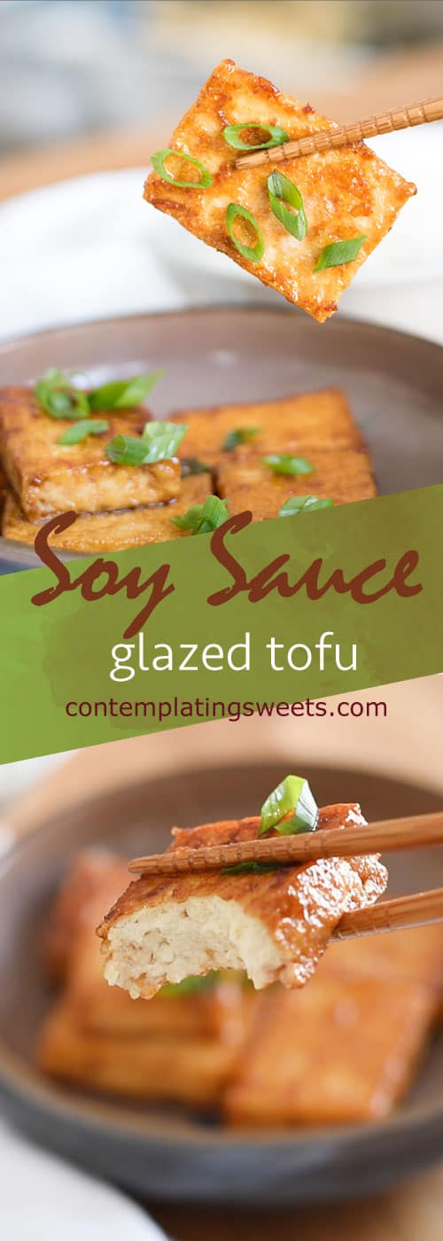 Soy sauce and butter pair beautifully for this easy main dish. Soy sauce tofu is easy to cook, economical, and delicious!
